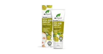 Dr. Organic, Virgin Olive Oil Face Mask, 125 Ml.