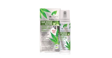 Dr. Organic, Hemp Oil Hair Rescue & Restore, 200 Ml.
