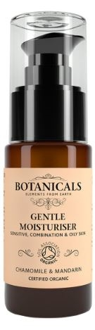 Botanicals Natural Organic Skincare Gentle Moisturiser Chamomile Mandarin 30g Sensitive, Combination, Oily