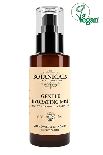 Botanicals Natural Organic Skincare Gentle Hydrating Mist Chamomile Mandarin 100ml Sensitive, Combination, Oily