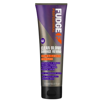 Farouk FUDGE CLEAN BLONDE DAM REW V-TONING SHAMPOO 250ML