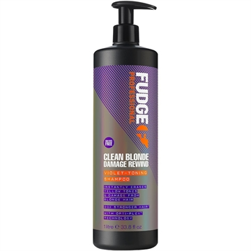 Farouk FUDGE CLEAN BLONDE DAM REW V-TONING SHAMPOO 1L