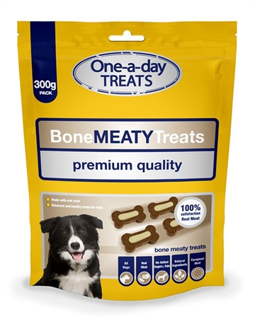 Dog Treat Bag Meaty Bone Treats 300G