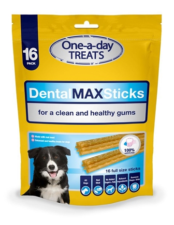 Dog Treat Bag Dental Max Sticks 300G