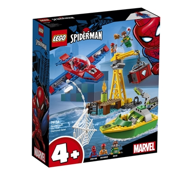 LEGO Super Heroes Spider-Man: Diamantenraub mit Doc  76134