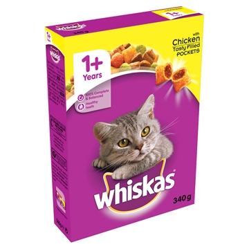 Whiskas Cat Complete Chicken  340G