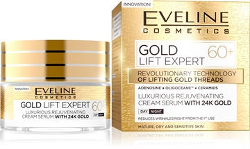 Eveline Gold Lift Expert Day And Night Cream 60+ 50ml