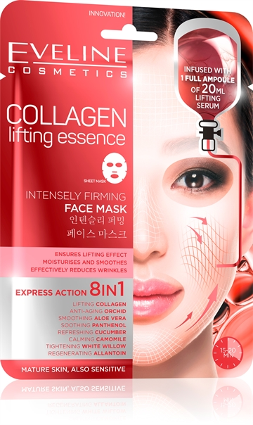 Eveline Collagen Intensely Firming Face Sheet Mask