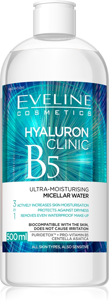 Eveline Hyaluron Clinic Micellar Water 500ml