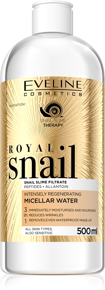 Eveline Royal Snail 3In1 Micellar Water 500ml