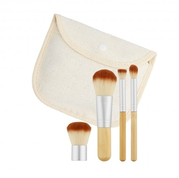 Mimo Makeup Brush Bamboo 4Pcs Set