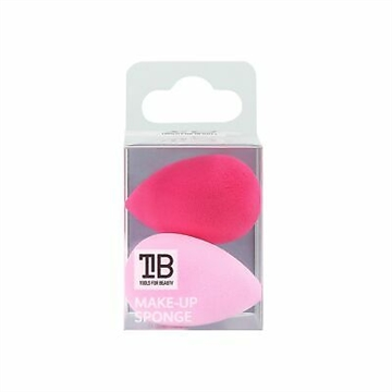 Mimo Makeup Sponge Mini Water Drop Pink 2Pcs Set