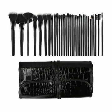 Mimo Makeup Brush Black 32Pcs Set