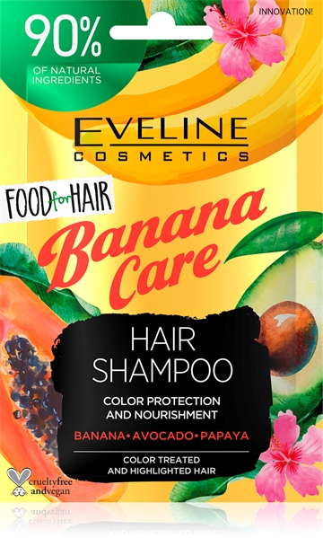 Eveline Food For Hair Banana Care Hair Shampoo 20ml