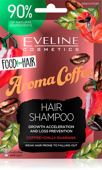 Eveline Food For Hair Aroma Cofee Hair Shampoo 20ml