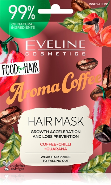 Eveline Food For Hair  Aroma Coffee Hair Mask 20ml