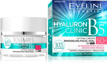 Eveline Hyaluron Clinic Day And Night Cream 50+ 50ml