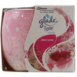 Glade Air Freshener Candle 120G Apple And Cinnamon
