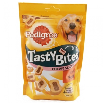Pedigree Dog Tasty Bites Beef 155G