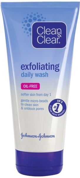 Clean & Clear Exfoliating Daily Wash 100ml