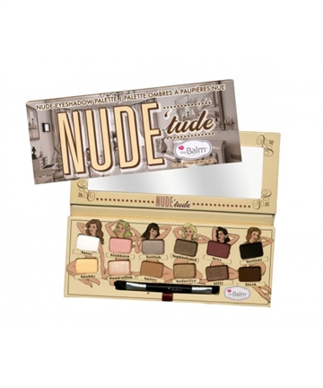 The Balm Nude Tude Eyeshadow Palette 8,5gr Nude Tude Naughty Palette