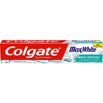 Colgate 75ml Toothpaste Max White Crystals
