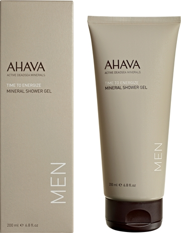 Ahava Time To Energize Men Mineral Shower Gel 200ml