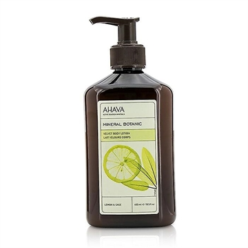 Ahava Mineral Botanic Body Lotion 400ml Lemon & Sage