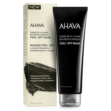 Ahava Mineral Masks Dunaliella Peel Off Mask 125ml