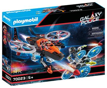 Playmobil Galaxy pirathelikopter 70023