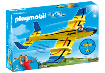 Playmobil Throw-and-Glide Seaplane 70057