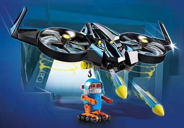 PLAYMOBIL:THE MOVIE Robotitron mit DrohneProduktnr.: 70071