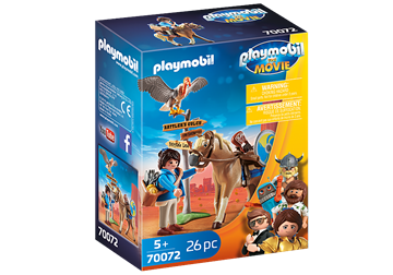 PLAYMOBIL:THE MOVIE Marla mit Pferd	70072