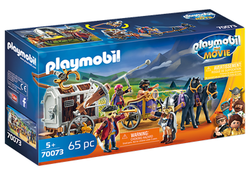 PLAYMOBIL:THE MOVIE Charlie mit Gefängniswagen	70073