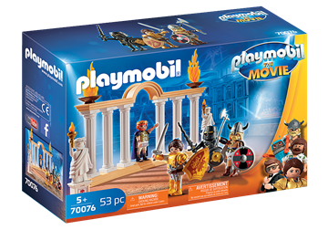 PLAYMOBIL:THE MOVIE Kaiser Maximus im Kolosseum	70076