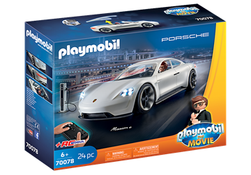 PLAYMOBIL:THE MOVIE Rex Dasher's Porsche Mission E	70078