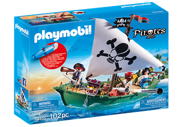 Playmobil Piratenschiff 70151