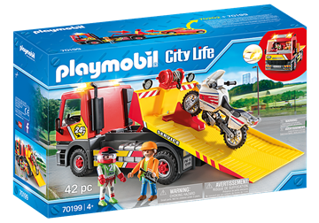 Playmobil City Life Abschleppdienst 70199
