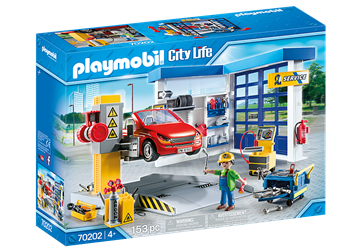 Playmobil City Life Autowerkstatt 70202