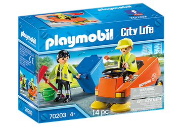 Playmobil City Life Kehrmaschine 70203