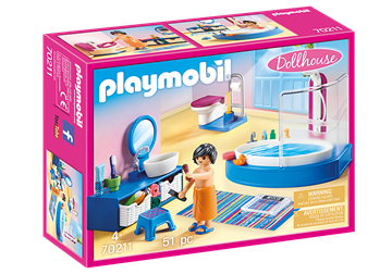 Playmobil Dollhouse Badezimmer 70211