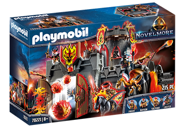 Playmobil Festung der Burnham Raiders 70221