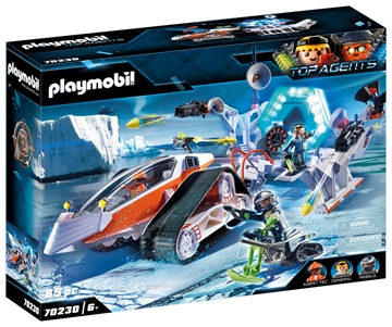 Playmobil Spy Team Kommandoschlitten 70230