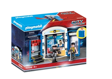 "Playmobil Spielbox ""In der Polizeistation"" 70306"