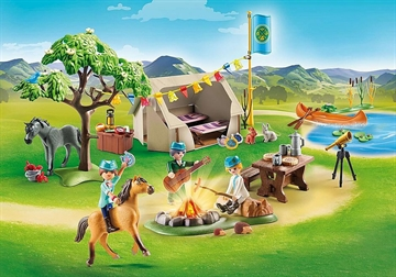 Playmobil Sommercamp 70329