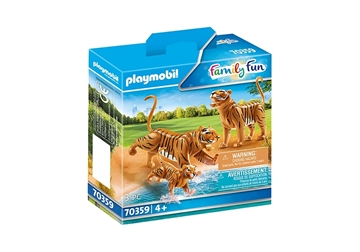 Playmobil 2 Tiger Mit Baby 70359