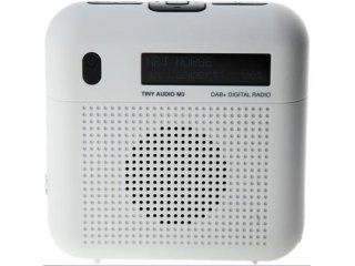 Tiny Audio M3 DAB+ radio, White