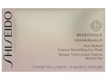 Shiseido Benefiance Wrinkle Resist 24 Pure Retinol Express Eye Mask 12stk