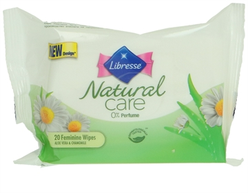 Libresse Natural Care Wet Wipes 20 Pcs 20 Stk
