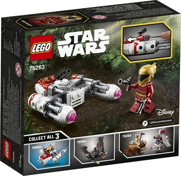 LEGO Star Wars 75263 Widerstands Y-Wing Microfighter V29